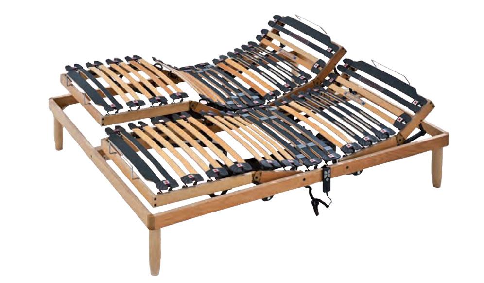 Dolce vita Randis | Rete in legno motorizzata